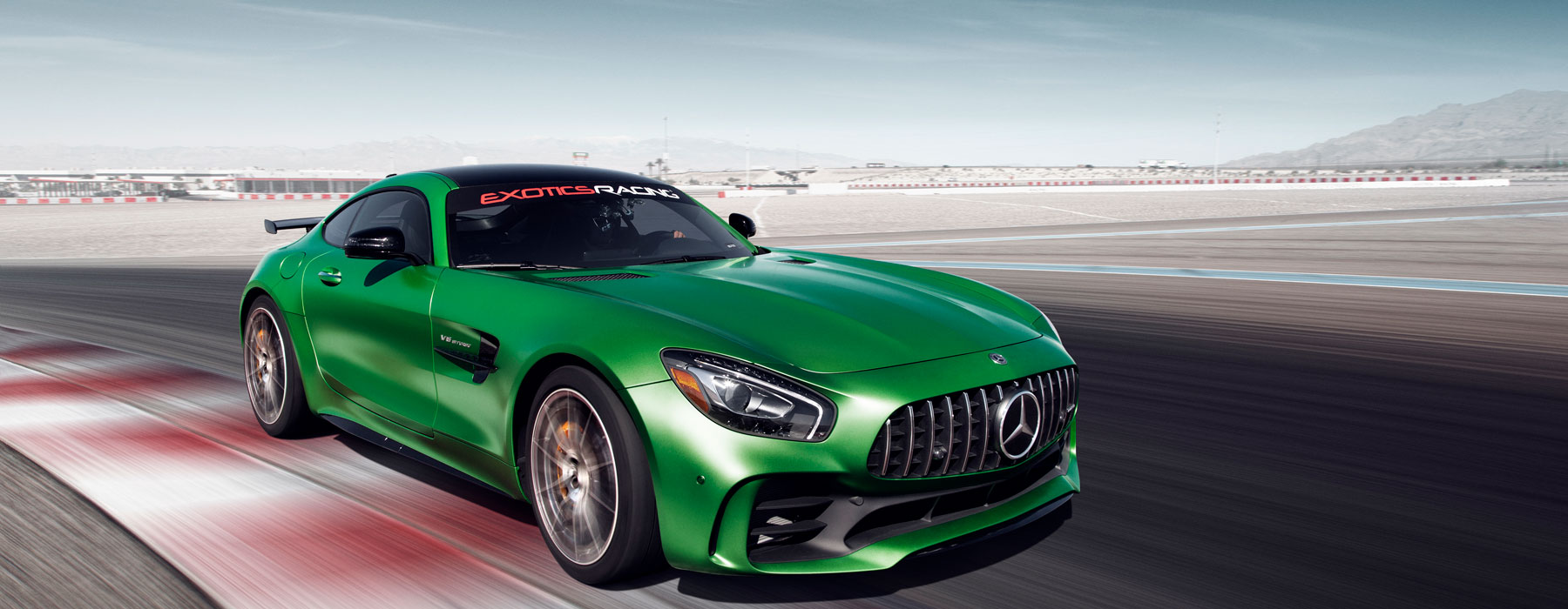 Drive A Mercedes Amg Gt R On A Racetrack At Exotics Racing