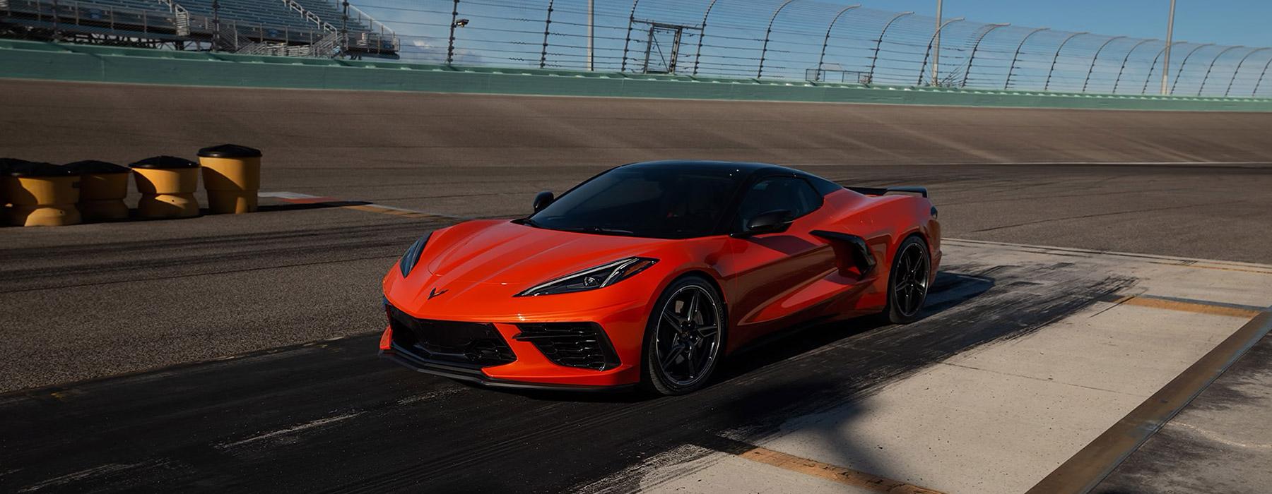 Drive a Corvette C8
