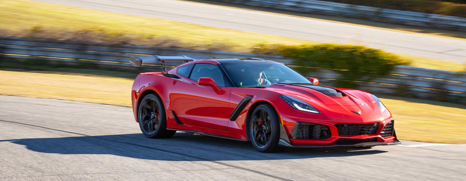 Drive a Corvette ZR1