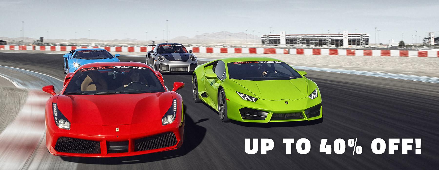 Drive A Ferrari Supercar On A Professional Racetrack With Exotics Racing