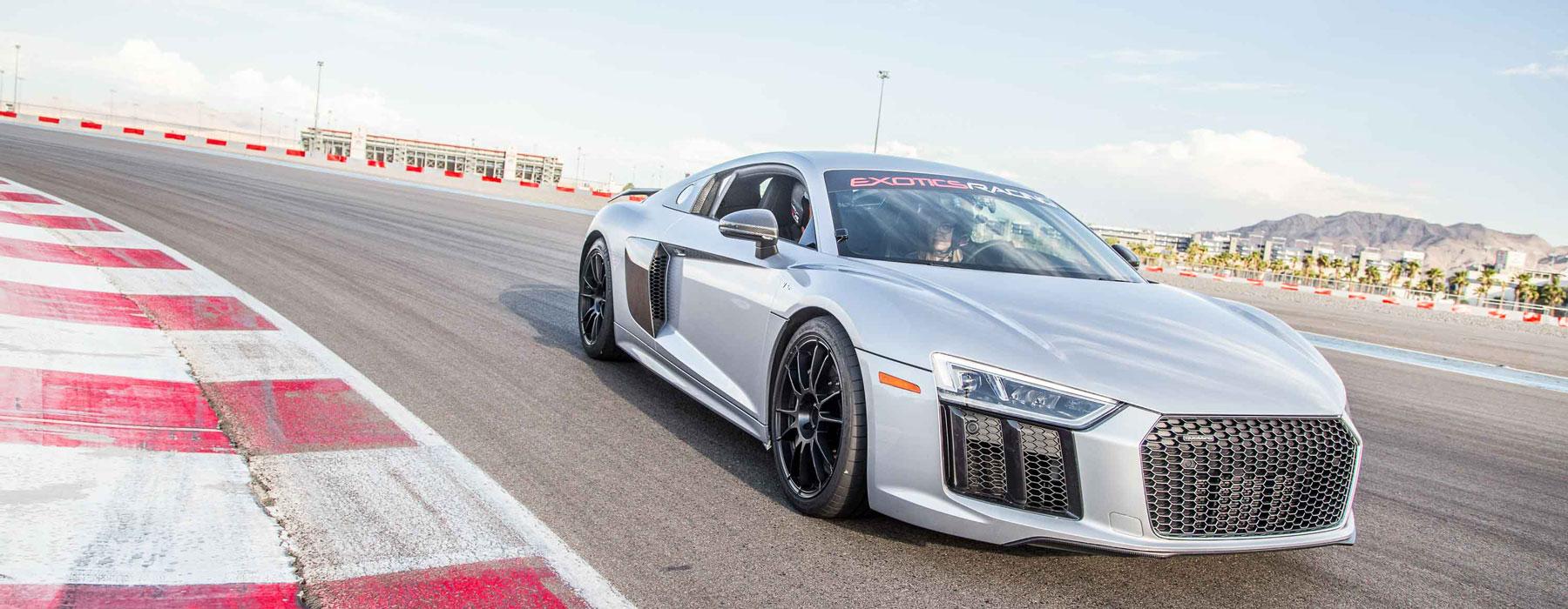 Drive an Audi R8 V10 Plus