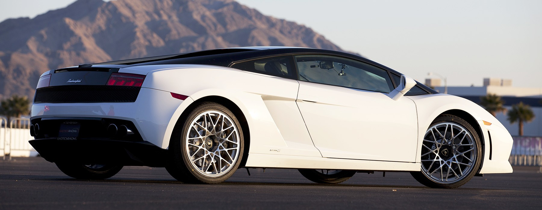 Exotics Racing Las Vegas Los Angeles Supercar Driving Experience