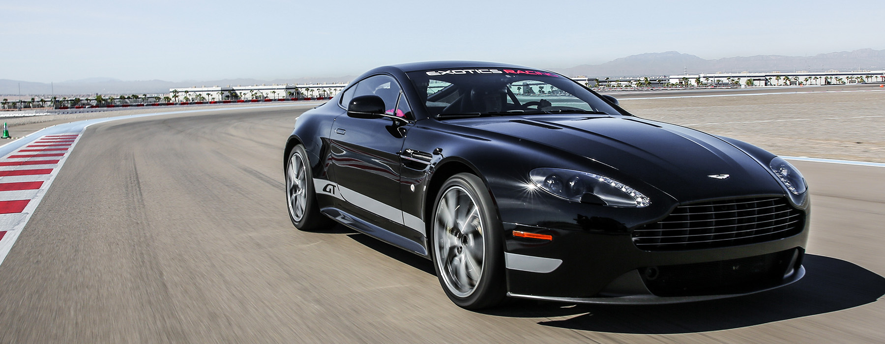 Drive An Aston Martin Vantage GT On A Racetrack At Exotics Racing - Aston martin dealership florida