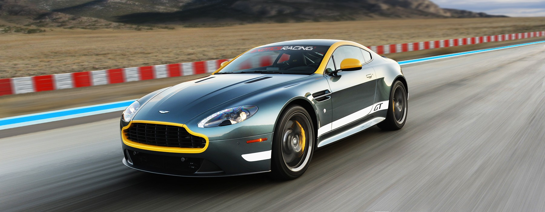 Exotics Racing Las Vegas Los Angeles Supercar Driving Experience - Aston martin gt