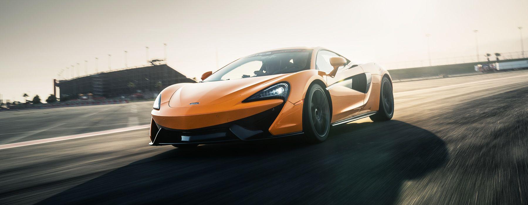 Drive a McLaren 570S