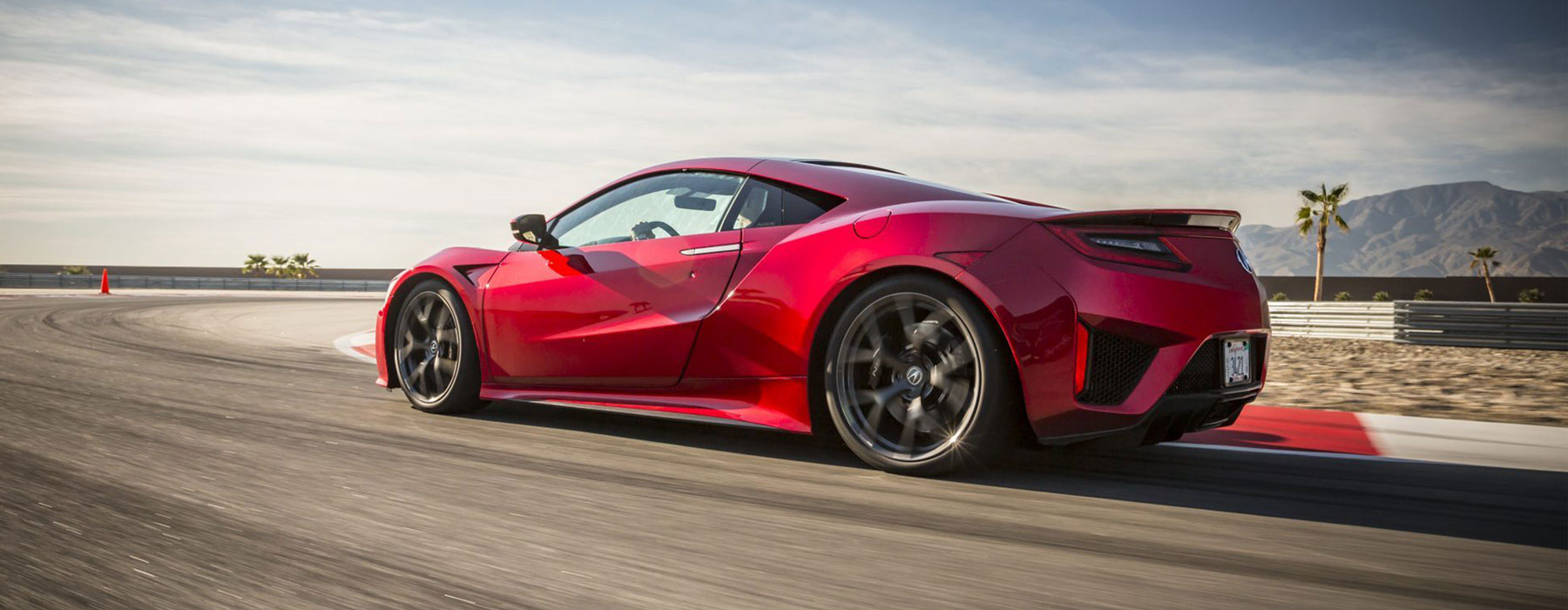 Drive an Acura NSX in Las Vegas or Los Angeles